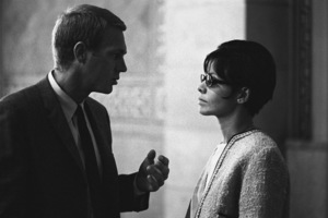 Steve McQueen and Neile Adams at a Los Angeles City Council meeting1964© 1978 Chester Maydole - Image 0019_1127