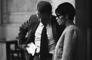 Steve McQueen and Neile Adams at a Los Angeles City Council meeting1964© 1978 Chester Maydole - Image 0019_1128