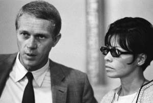 Steve McQueen and Neile Adams at a Los Angeles City Council meeting1964© 1978 Chester Maydole - Image 0019_1129