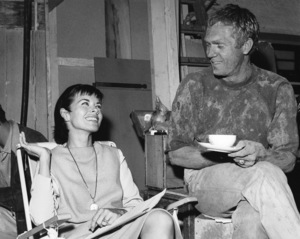 """""""The Great Escape"""" Steve McQueen, Neile Adams1963 United Artists** I.V. - Image 0019_1144"""