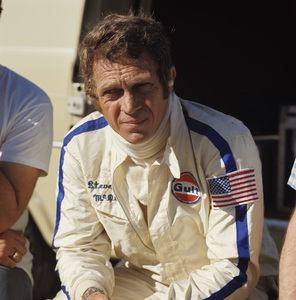 Steve McQueen at the Ontario Motor Speedway 1971 © 1978 Paul Slaughter - Image 0019_1151