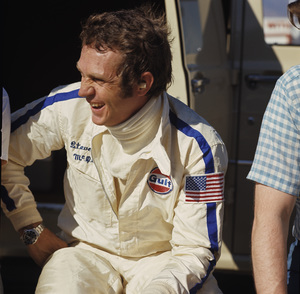 Steve McQueen at the Ontario Motor Speedway 1971 © 1978 Paul Slaughter - Image 0019_1152