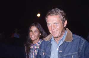 Steve McQueen and Ali MacGraw circa 1972 © 1978 Gary Lewis - Image 0019_1501