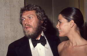 Ali MacGraw and Steve McQueen at the American Film Institute