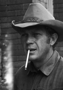 """Steve McQueen during the making of """"Nevada Smith"""" 1966 © 1978 Chester Maydole - Image 0019_1508"""