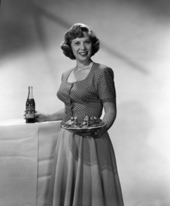 Dinah Shore in a Royal Crown Cola advertisementcirca 1950s© 1978 Paul Hesse - Image 0020_0625