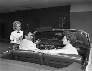 Jack Palance and wife Virginia1954© 1978 Sid Avery - Image 0021_0427