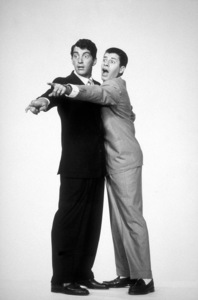 """Dean Martin & Jerry Lewis in """"Living It Up,""""1954 / Paramount.Photo by Bud Fraker - Image 0022_0153"""