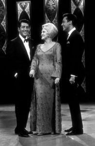 "Dean Martin, Peggy Lee, and Jack Joneson ""The Dean Martin Show,"" 1965 NBC. © 1978 Bud Gray - Image 0022_0196"