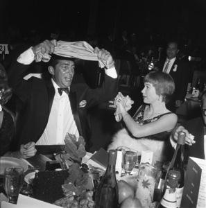 Dean Martin and Shirley MacLaine at a Thalian benefit thrown by Debbie Reynoldscirca 1960 © 1978 David Sutton - Image 0022_1029