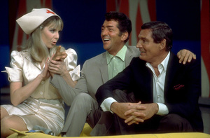 "Dean Martin and Gene Barry on""The Dean Martin Show,"" February 1967.  NBC. © 1978 Ed Thrasher - Image 0022_1198"