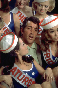 """Dean Martin and the Golddiggers on""""The Dean Martin Show,"""" February 1967.NBC. © 1978 Ed Thrasher - Image 0022_1201"""
