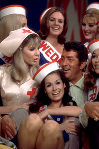 """Dean Martin and the Golddiggers on""""The Dean Martin Show,"""" February 1967.NBC. © 1978 Ed Thrasher - Image 0022_1202"""
