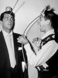 Dean Martin and Jerry Lewis, c. 1950.Photo by Gerald Smith - Image 0022_1227