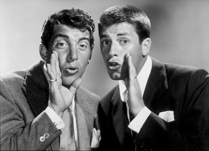 Dean Martin and Jerry Lewis, 1950.Photo by Gerald Smith - Image 0022_1229