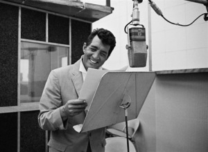 Dean Martin at a recording session1961© 1978 Sid Avery - Image 0022_1244