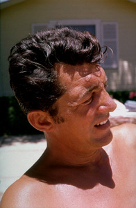 """Dean Martin on the set of """"Sergeant"""