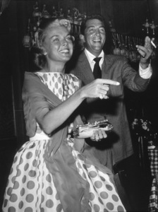 Dean Martin with wife Jeanne at the Villa Capri 1957 © 1978 Joe Shere - Image 0022_1403