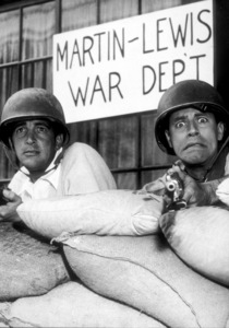 Dean Martin and Jerry Lewis, March 20, 1954. - Image 0022_1411