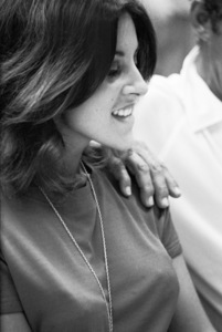 Deana Martin at a recording session with her father DeanAugust 1966 © 1978 Ed Thrasher - Image 0022_1454