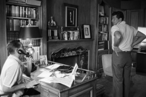 Dean Martin at home with Mack Gray1958© 1978 Bob Willoughby - Image 0022_1497