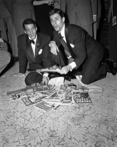 Dean Martin and Jerry Lewiscirca 1950© 1978 Barry Kramer - Image 0022_1604