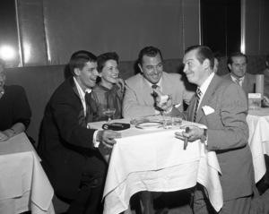 Jerry Lewis, Tony Martin and Milton Berlecirca 1950© 1978 Barry Kramer - Image 0022_1619