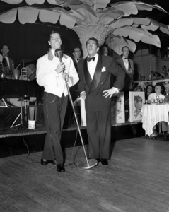 Dean Martin and Jerry Lewis performing at the Copacabana (nightclub) in New Yorkcirca 1950© 1978 Barry Kramer - Image 0022_1631