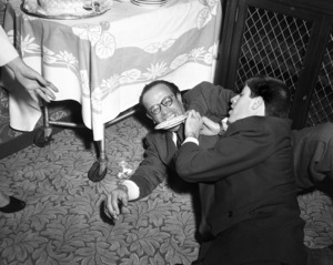 Jerry Lewis and George Evanscirca 1950© 1978 Barry Kramer - Image 0022_1640