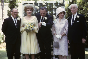 Ernest Borgnine and Ethel Merman on their wedding day1964 © 1978 Sid Avery - Image 0023_0004