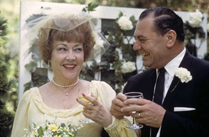 Ernest Borgnine and Ethel Merman on their wedding day1964 © 1978 Sid Avery - Image 0023_0006