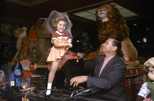Ernest Borgnine and daughter Nancee at Uncle Bernie