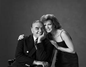 Ernest Borgnine and wife Tova1982© 1982 Sid Avery - Image 0023_0148