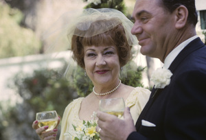 Ernest Borgnine and Ethel Merman on their wedding day1964 © 1978 Sid Avery - Image 0023_2010