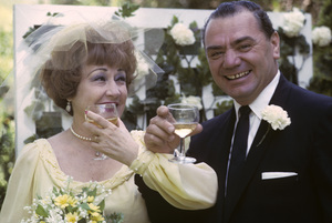 Ernest Borgnine and Ethel Merman on their wedding day1964 © 1978 Sid Avery - Image 0023_2054