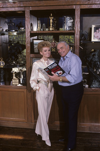 Ernest Borgnine and his wife Tova at their Beverly Hills home1985 © 1985 Gene Trindl - Image 0023_2057