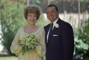 Ernest Borgnine and Ethel Merman on their wedding day1964 © 1978 Sid Avery - Image 0023_2064