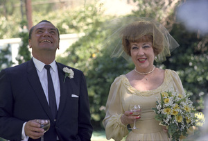 Ernest Borgnine and Ethel Merman on their wedding day1964 © 1978 Sid Avery - Image 0023_2065