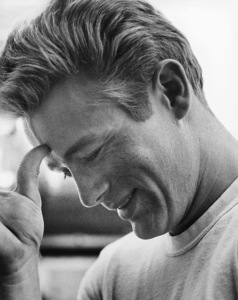 """James Dean on the set of """"Rebel Without a Cause""""1955© 1978 Sid Avery - Image 0024_0002"""