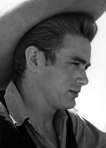 """James Dean on location for """"Giant"""", in Marfa Texas1955 © 1978 Sid Avery - Image 0024_0011"""