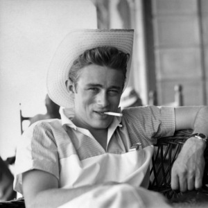 "James Dean on location for ""Giant"" in Marfa, Texas1955 © 1978 Sid Avery - Image 0024_0019"