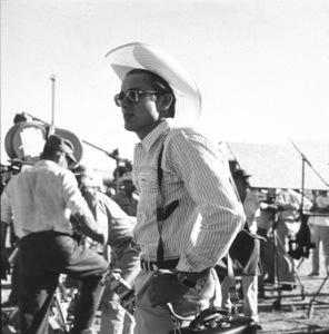 "James Dean on location for ""Giant"" in Marfa, Texas, 1955. © 1978 Sid Avery - Image 0024_0144"