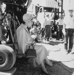 "Elizabeth Taylor on location for ""Giant""in Marfa Texas1955 © 1978 Sid AveryMPTV - Image 0024_0177"