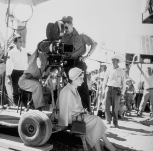 "Elizabeth Taylor on the set of ""Giant""in Marfa Texas1955 © 1978 Sid AveryMPTV - Image 0024_0179"