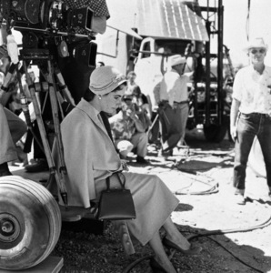 """Elizabeth Taylor on location for """"Giant"""" in Marfa, Texas1955 © 1978 Sid Avery - Image 0024_0182"""