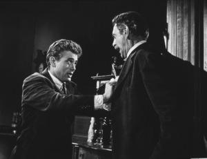 "James Dean and Raymond Masseyin ""East of Eden.""1955  Warner / MPTV - Image 0024_0222"