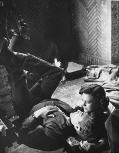 """James Dean and Natalie Wood in""""Rebel Without A Cause.""""1955 Warner / MPTV - Image 0024_0223"""