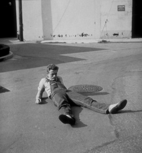 """James Dean on location whilefilming """"East of Eden.""""1955 Warner / MPTVPhoto by Floyd McCarty - Image 0024_0251"""