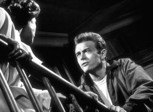 """James Dean and Ann Doran in """"Rebel Without A Cause.""""1955 Warner / MPTVPhoto by Floyd McCarty - Image 0024_0265"""