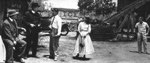 "James Dean, Raymond Massey, Richard Davalos,and Julie Harris in ""East of Eden.""1955 Warner / MPTVPhoto by Jack Albin - Image 0024_0269"